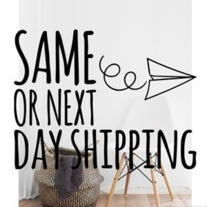 ALWAYS SAME OR NEXT BUSINESS DAY SHIPPING!
